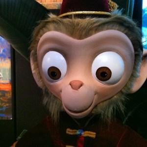 Albert the Monkey from Mystic Manor was on Display!