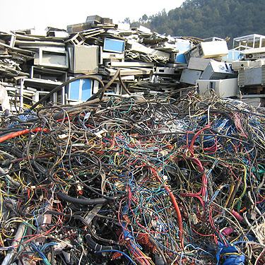 E-waste disposal in Kitchener
