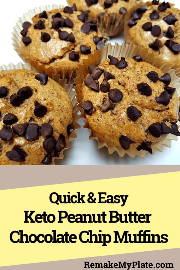 Keto Peanut Butter Muffins