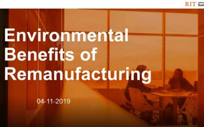 Environmental Benefits of Remanufacturing