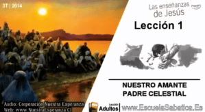 Lección 1 - Nuestro amante Padre celestial - Escuela Sabática Tercer trimestre 2014