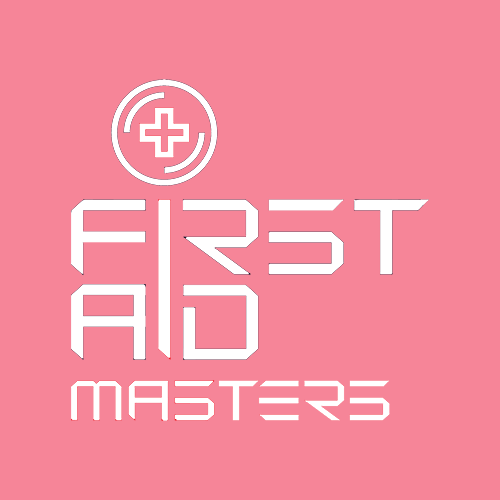 First Aid Masters in Canberra (this is their white and red logo)
