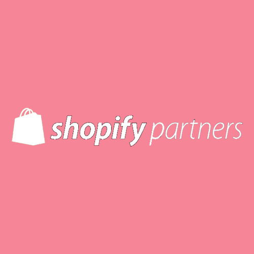 Remap Online is proud to be an Official Shopify Partner (white and red badge)