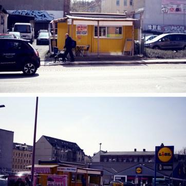 """Die """"Limba"""" besticht durch eine enorme Dichte ranziger Imbissbuden. Beim kleinen gelben Asia-Imbiss mit angrenzender Autovermietung am Rande des Lidl-Parkplatzes gibt es auch Döner, Freisitz und Frittierfett. Jedenfalls treffen sich hier viele Stars der Stadt."""