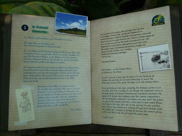 Netter Service: Unendlich lange Texte in unfassbar dicken Büchern bringen unglaubliche Geschichten über eigentlich uninteressante Dinge näher. Die Herzen der Rollenspiel-Gamer-Nerds springen im Dreieck vor Freude - alle anderen schauen sich nicht einmal die Bilder an.