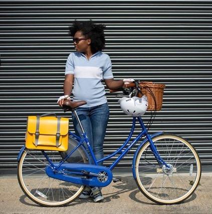 Elle Linton bicycle fashion