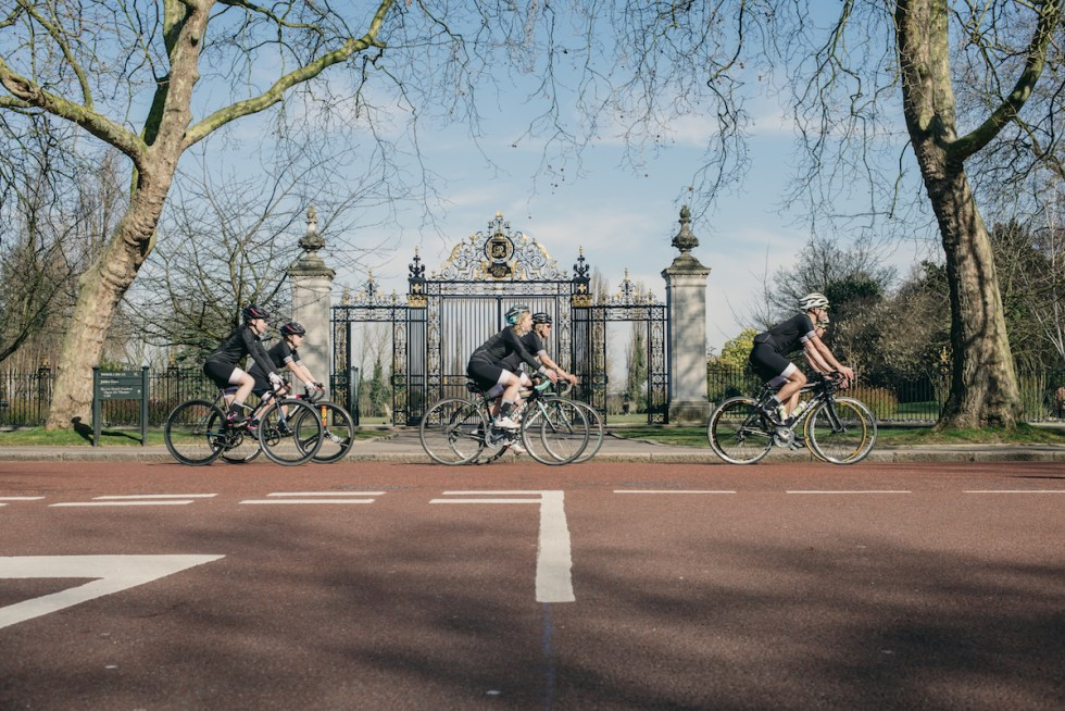 adidas cycling London - Royal Parks