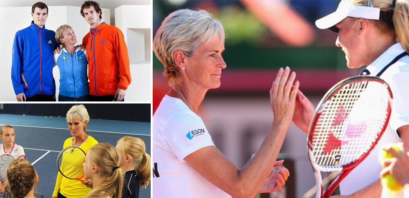 Judy Murray tennis montage