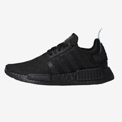 adidas-NMD-R1-Black-Mint-AQ1102 - 2019