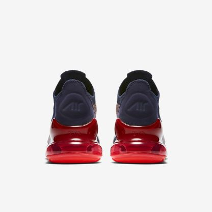Nike-Air-Max-270-Flyknit-Blue-White-Red-heels