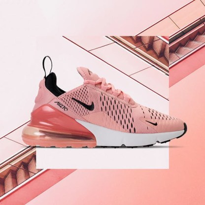 timeless design release date recognized brands Nike Air Max 270 - Pink