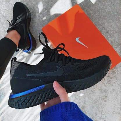Nike Epic React Flyknit - Black 9