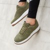 Nike Air Force 1 07 Suede Trainers - Khaki 5