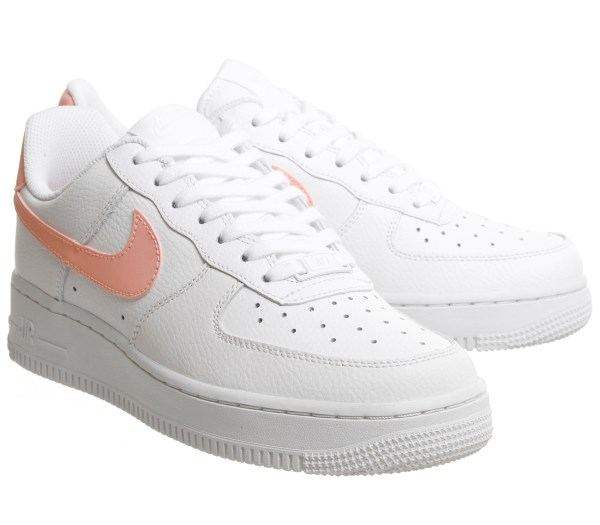 Nike Air Force 1 '07 Patent White Oracle Pink