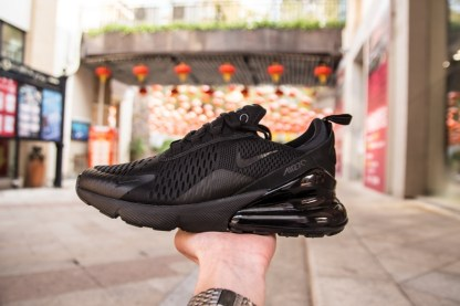 Nike Air Max 270 Triple Black 8