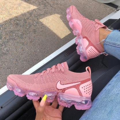 0f502d4b61a Nike Air VaporMax Flyknit 2 Rust Pink - Nike Shoes - SportStylist