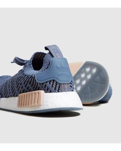 adidas NMD_R1 STLT Primeknit Shoes - Blue 5