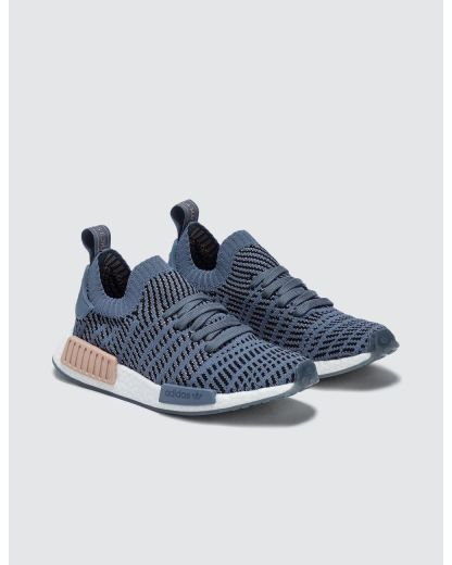 adidas NMD_R1 STLT Primeknit Shoes - Blue 4
