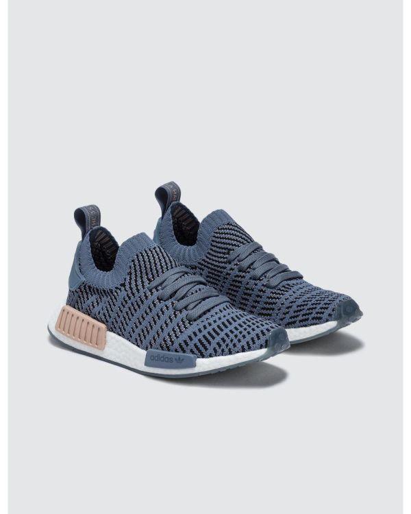 adidas NMD_R1 STLT Primeknit Shoes - Blue