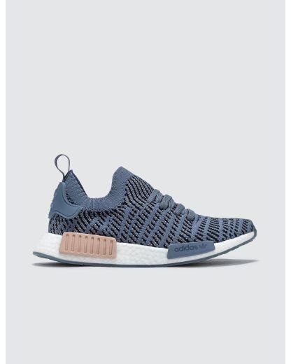 adidas NMD_R1 STLT Primeknit Shoes - Blue 2