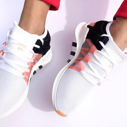 the best attitude f0e00 c1bef adidas Originals EQT Racing ADV - White, Pink, Black ...