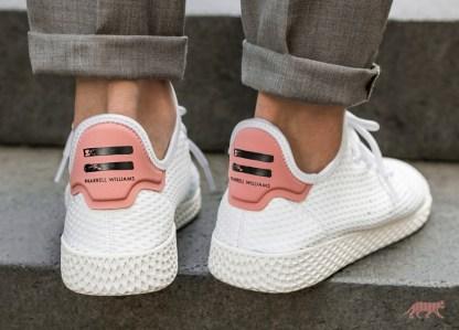 adidas Originals Pharrell Williams Tennis Hu - Pink 6