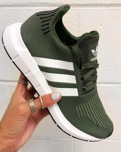adidas Originals Swift Run - Green - AQ0866 8