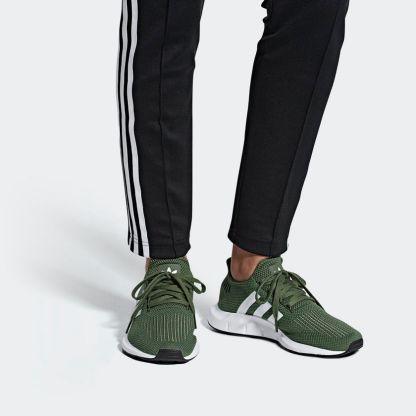 adidas Originals Swift Run - Green - AQ0866 2