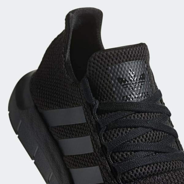 adidas Originals Swift Run Shoes – Black - detail