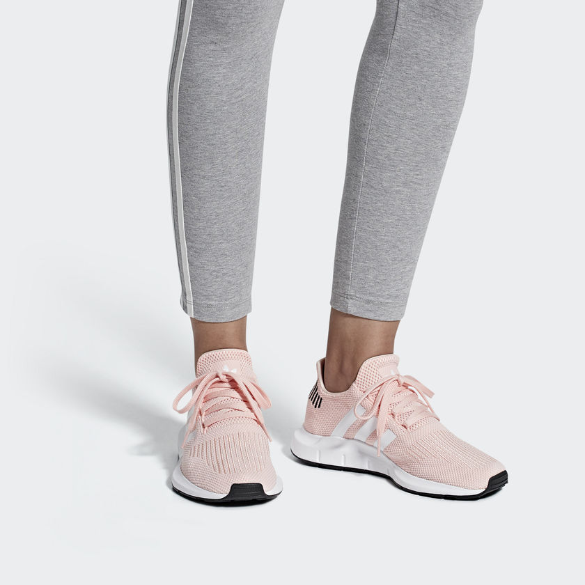 adidas Swift Run Shoes Icey Pink adidas Sneakers