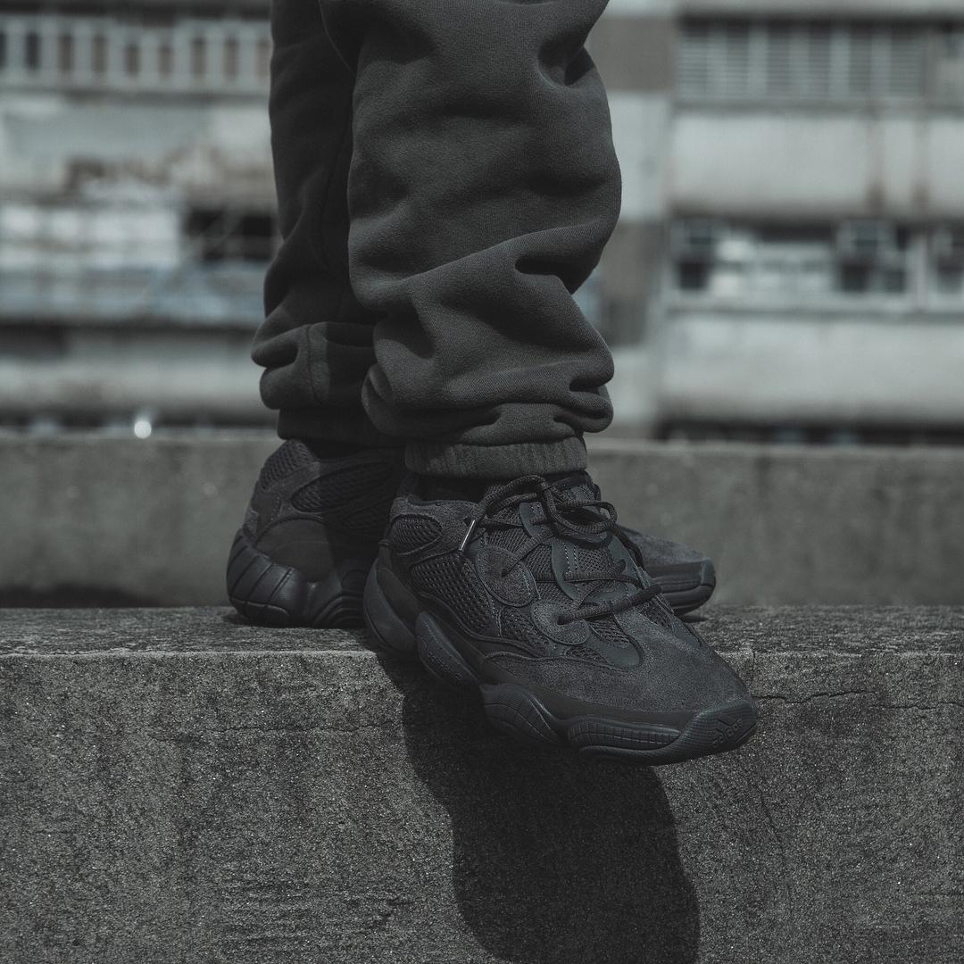 adidas yeezy 500 black