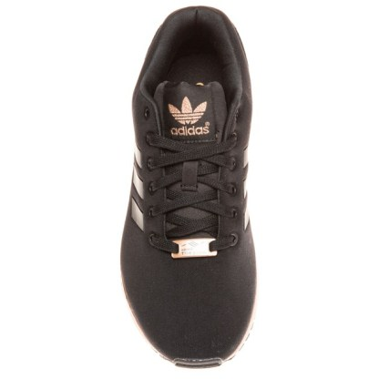 adidas ZX Flux Trainers – Black and Copper (Gold) - Rematch