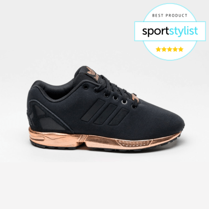 adidas ZX Flux Trainers – Black and Copper (Gold) Rematch