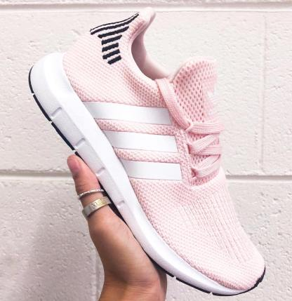 adidas Swift Run Shoes - Icey Pink 9