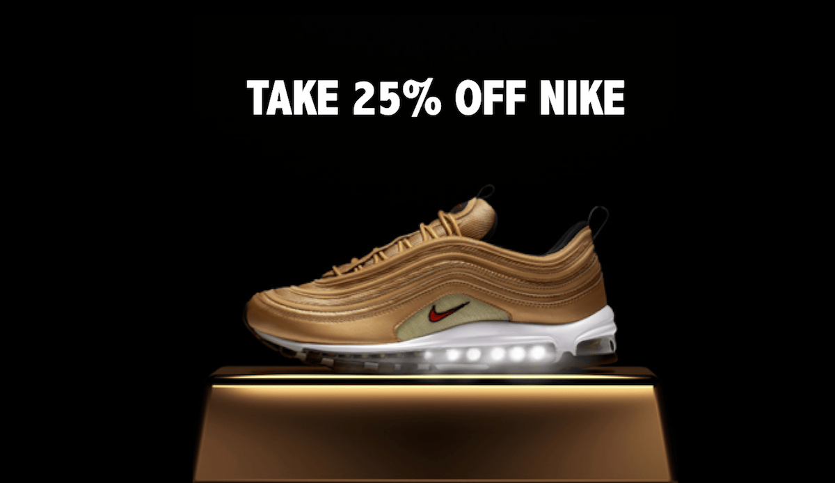 buy online e9065 bb721 How To Get 25% Off Nike For Your Birthday