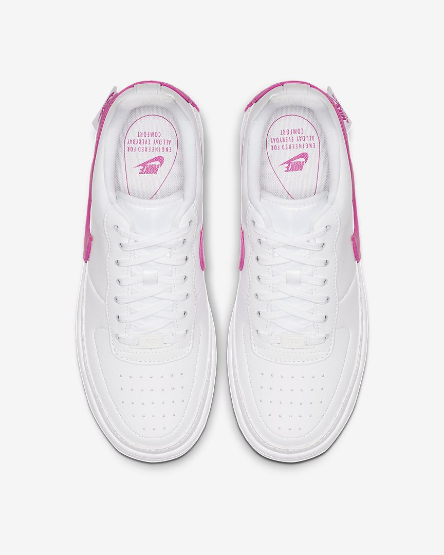 Nike Air Force 1 Jester XX Shoe Pink White Rematch