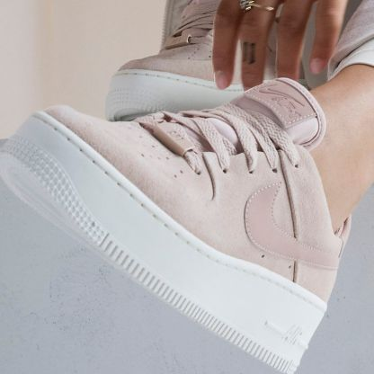 Nike Air Force 1 Sage Low - Beige - Shoes 2019 - close up