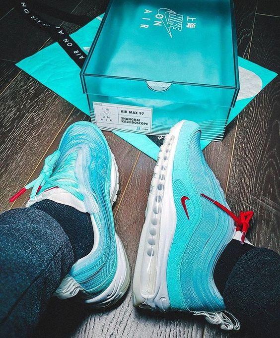 Nike Air Max 97 Shanghai Kaleidoscope - on feet