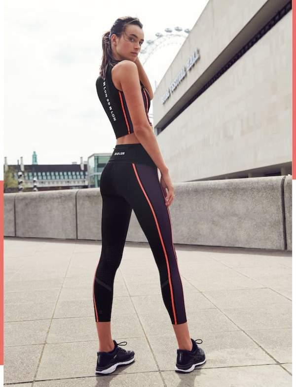 Sweaty Betty - Homestraight Run stretch jersey crop top - London