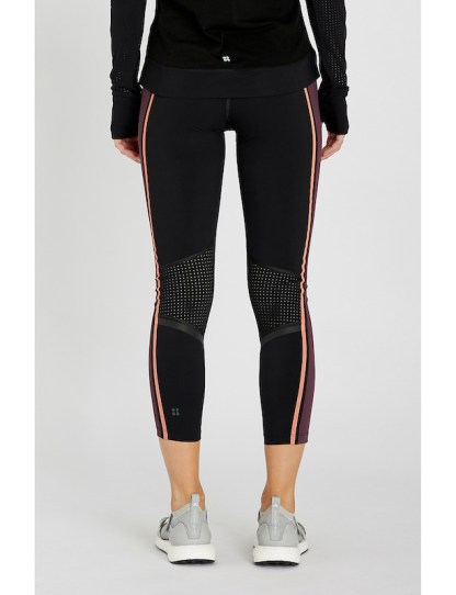 Sweaty Betty - Zero Gravity 7:8 Run Leggings - Size Small - back