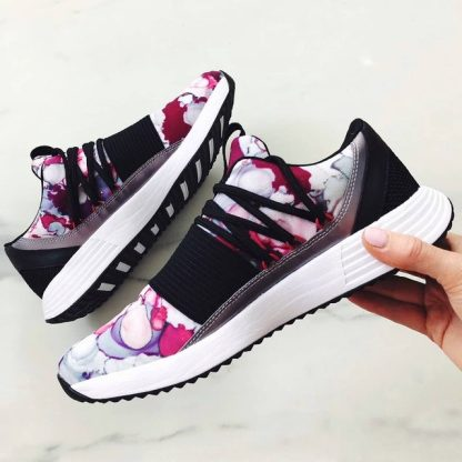 Under Armour Breathe Lace + Sportstyle Shoes - Black Purple Pink - style
