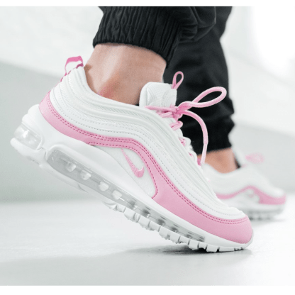 Nike Air Max 97 Essential Shoes White Pink Rematch