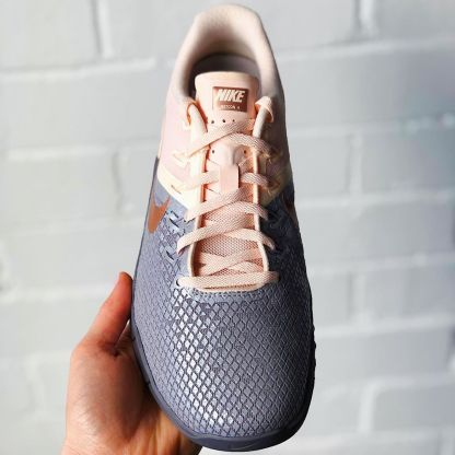 Nike Metcon 4 CrossFit Shoes pink grey