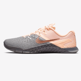 Nike Metcon 4 XD Metallic Shoes - Grey Pink