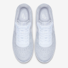 Nike Air Force 1 Flyknit 2.0 - white shoes - above