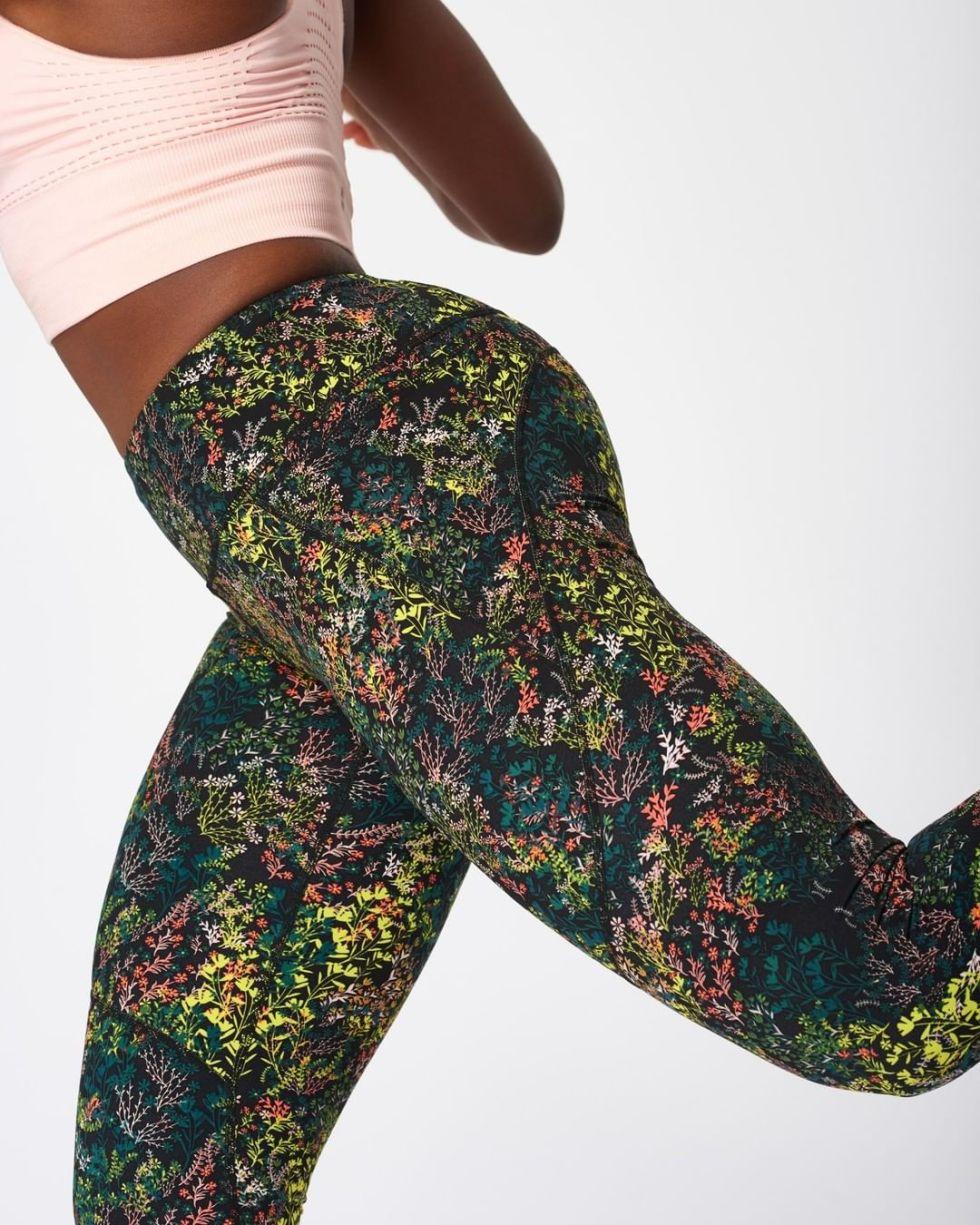 Sweaty Betty Floral Flower Leggings