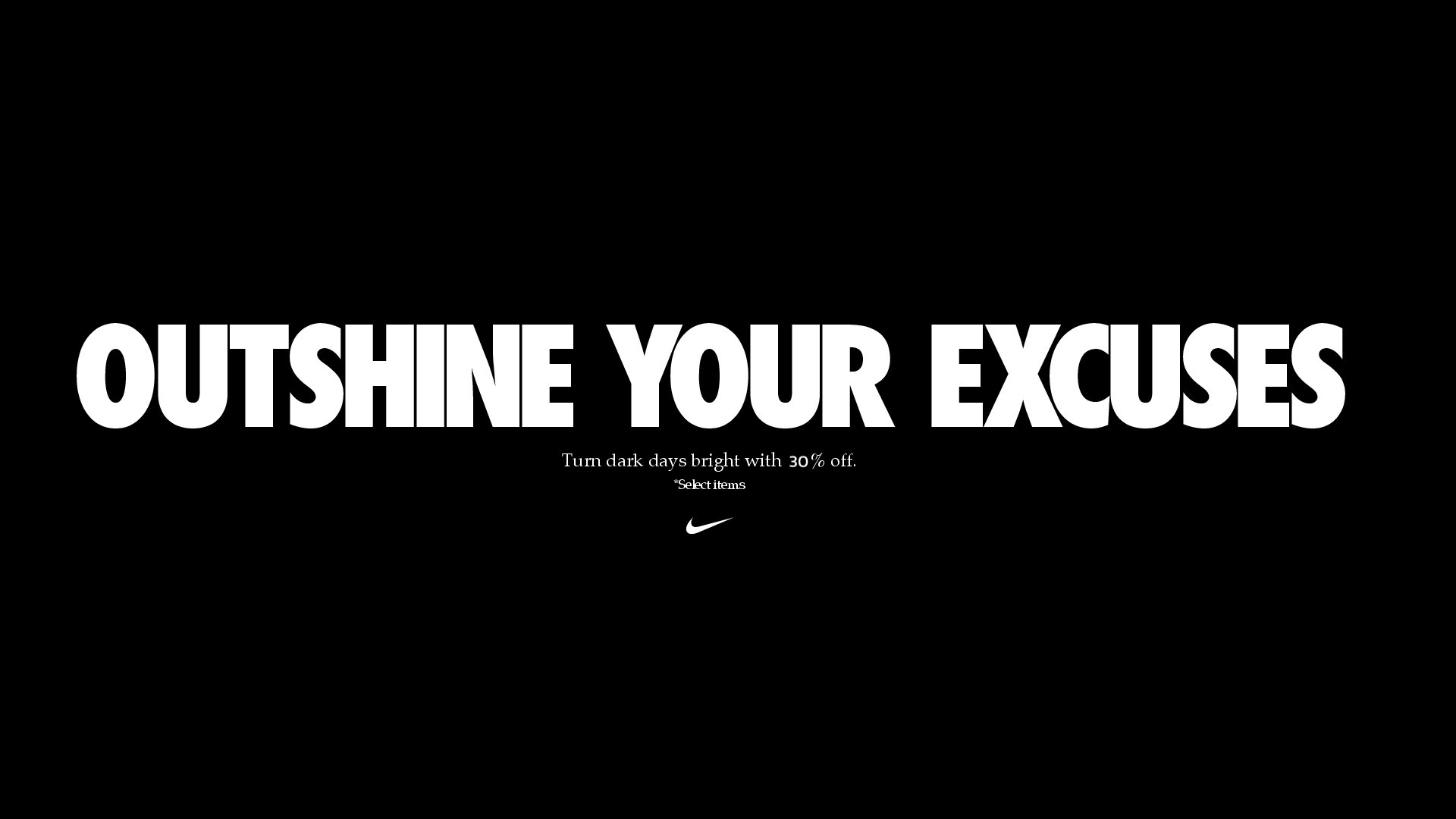 Nike Black Friday 2020 - Extra 30% Off Voucher Code - Banner