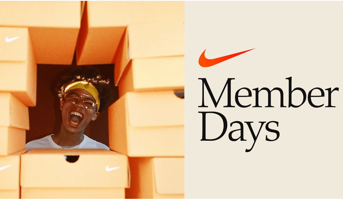 Nike Member Days - Just Do It