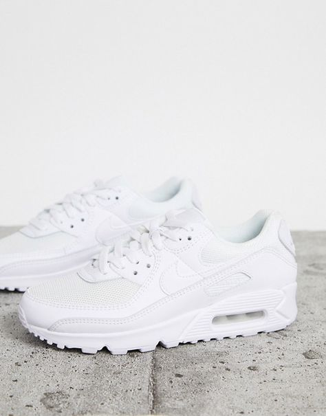 Nike Air Max 90 LTR Shoes - White - style