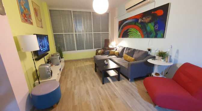 """2 חדרים, 50 מ""""ר, מעולה למשקיעים וזוגות ברחוב חנקין, מרכז העיר, חולון"""
